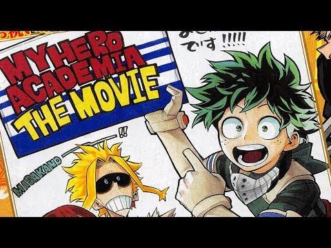 The Boku no Hero Academia Movie Will Be Original Content