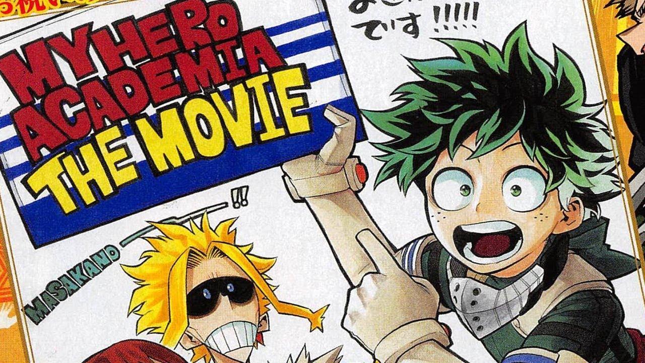 Boku no Hero Academia - O Filme ganha data de estreia