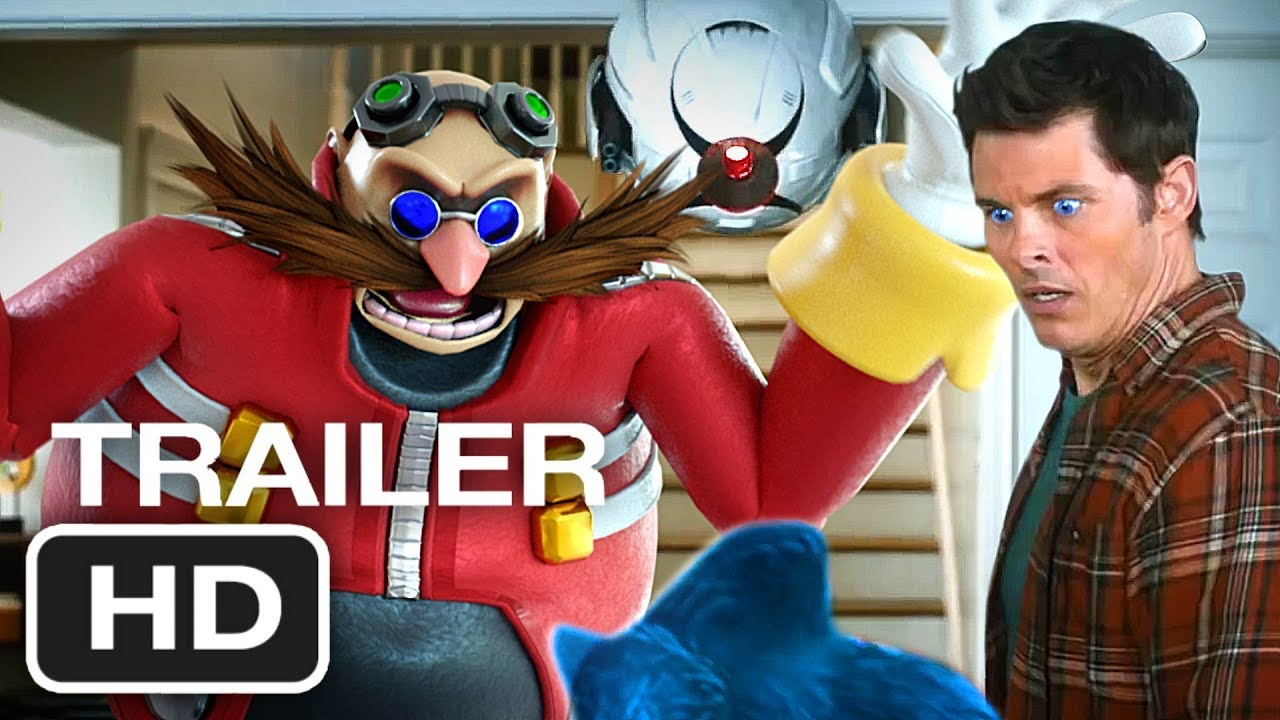 Sonic The Hedgehog Trailer 3 Leak New Robotnik 2020 Youtube