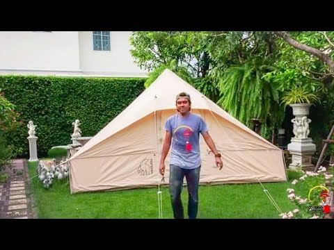 How to pitch a tent Nordisk Utgard 13.2
