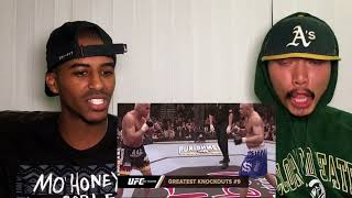 TOP 20 KNOCKOUTS IN UFC HISTORY- REACTION