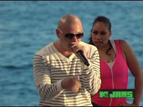 Ludacris featuring Pitbull - How Low Remix Live MTV Spring Break 2010