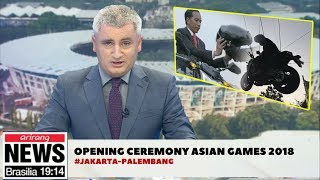 HEBOH,..!!!Media Asing Beritakan Video Jokowi Di Opening Ceremony Asian Games 2018