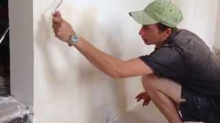 Покраска стен водоэмульсионной краской своими руками: технология и видеоинструкция