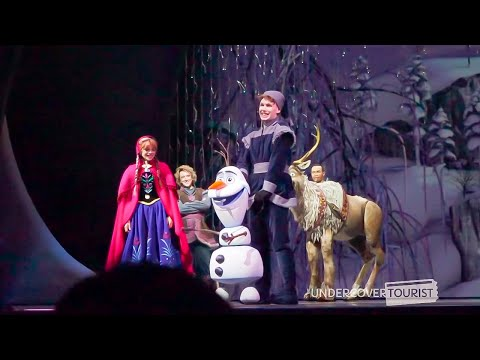 Frozen  at the Hyperion Theatre, Full MultiAngle Show, Disney California Adventure, Disneyland