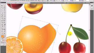 Видео урок по Adobe Illustrator - урок 6