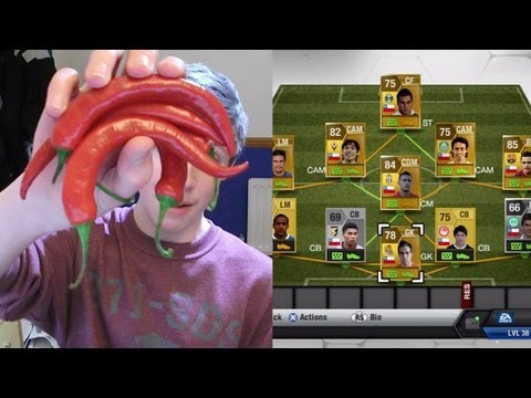 Fifa 13 | Forfeit Fifa | CHILLI EATING