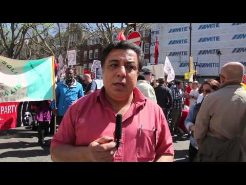 Nazar Akrawi May Day London 2013