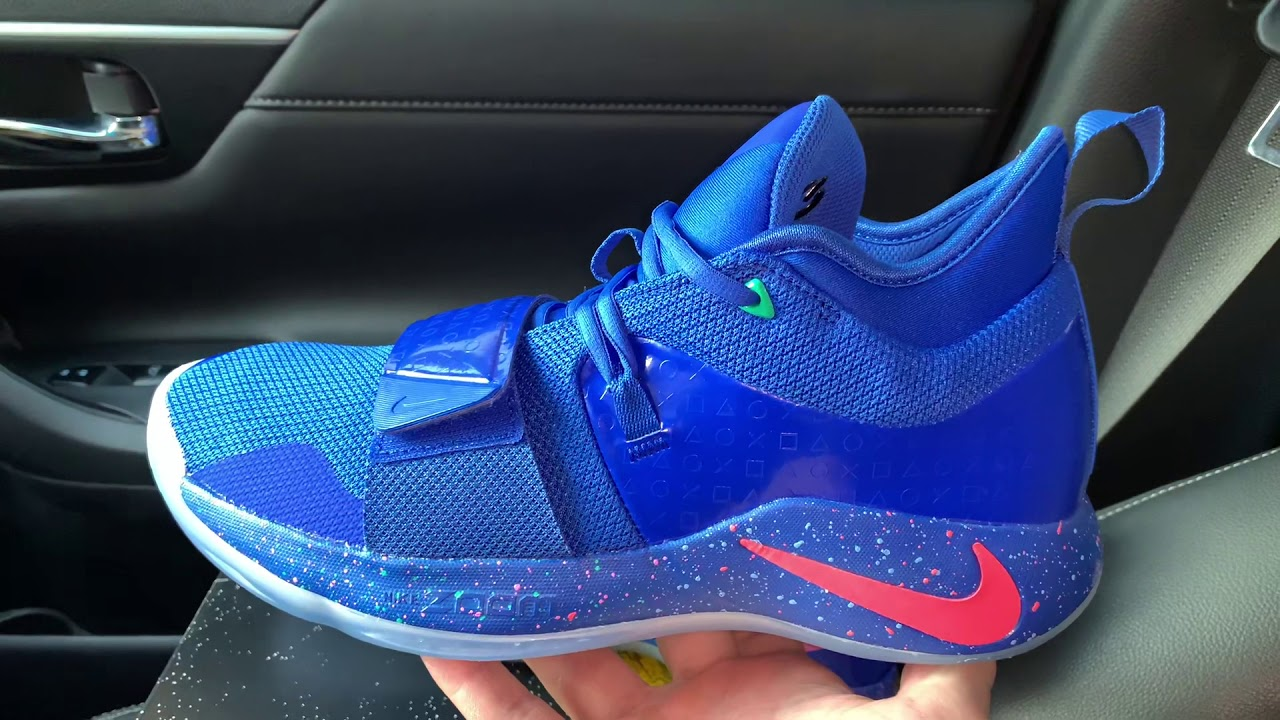 Nike PG 2.5 Playstation Blue shoes