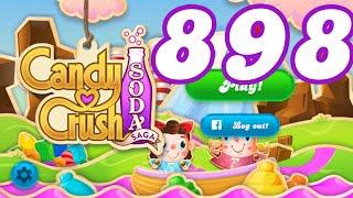 Candy Crush Soda Saga Level 898 No Boosters
