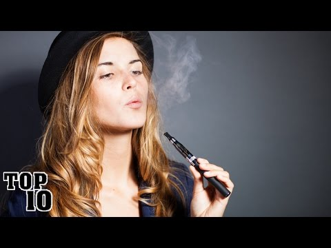 Top 10 Facts About E-Cigarettes