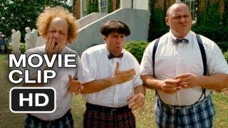 The Three Stooges #3 Movie CLIP - Rat Lips (2012) HD Movie