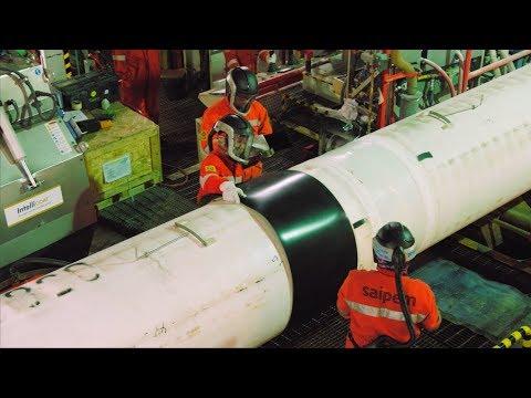 Johan Sverdrup: Pipeline Installation
