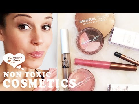 Natural Mineral Makeup | Non Toxic Cosmetics | Organic Product Review