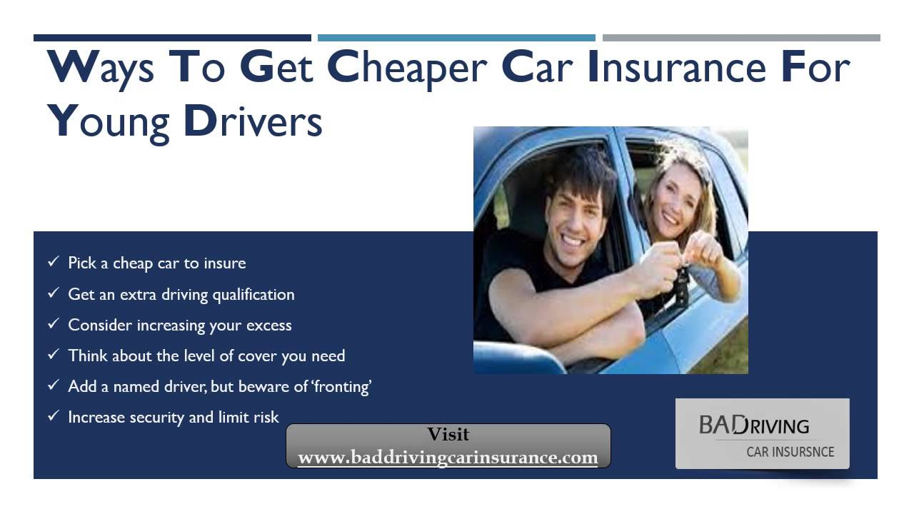 How Do I Get Car Insurance Quotes For Young Drivers - YouTube