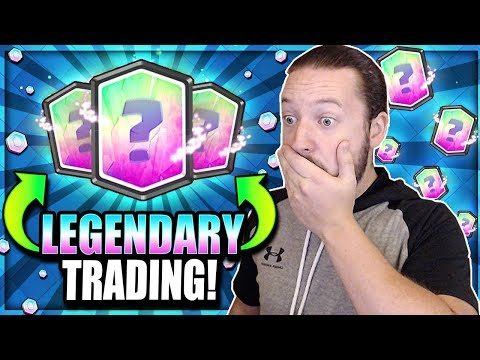 How To Get LEGENDARY TRADE TOKENS!! Insane Trading Offers!! Clash Royale Trade Tokens