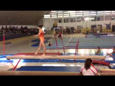 Johanna Sotillo Gymnastics Video