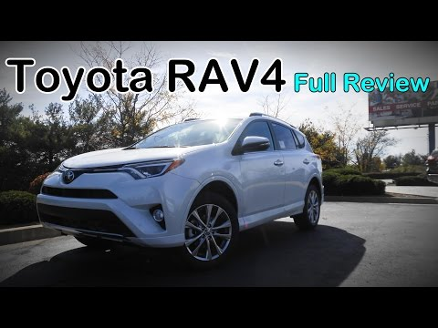 2017 Toyota RAV4: Full Review | LE, XLE, SE, Limited, Platin