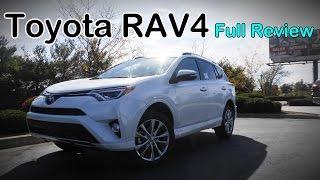 2017 Toyota RAV4: Full Review   LE, XLE, SE, Limited, Platinum & Hybrid