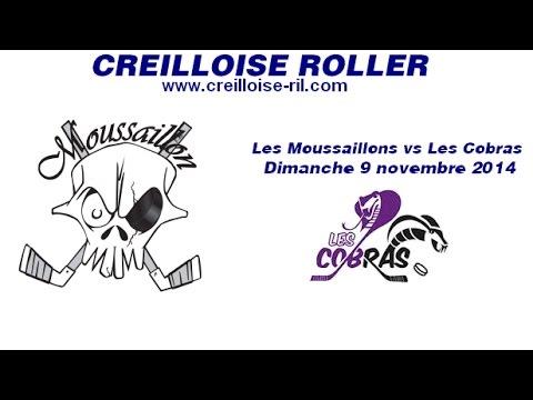 2014/11/09 Moussailllons vs Cobras 1ere mi temps.