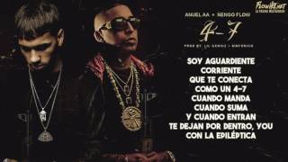 47 anuel aa ft engo flow letra