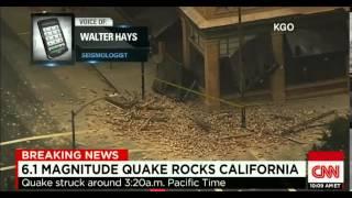 Epic Earthquake Rocks CA 6.1 Napa Valley Breaking News