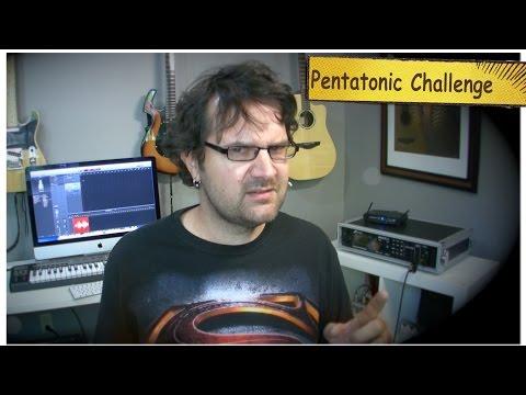Minor Pentatonic Guitar Challenge
