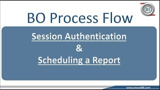 Session Authentication and Setting a Scheduling : BOBJ Process Flow Part 2