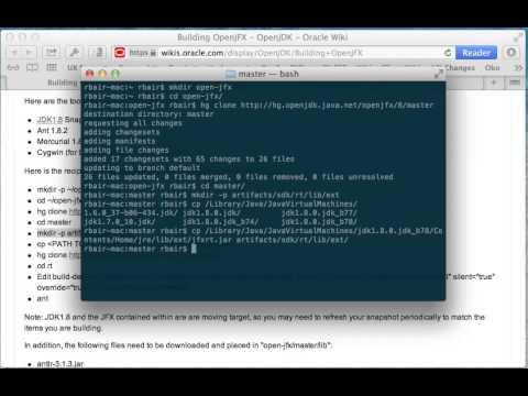 Building OpenJFX - OpenJDK Wiki