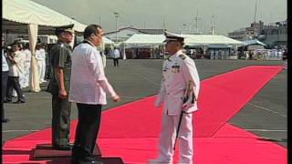 Christening of the Newly Acquired Assets of the Philippine Navy 12/14/2011
