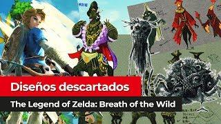Diseños descartados | The Legend of Zelda: Breath of the Wild