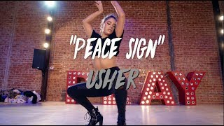 "Usher - ""Peace Sign"" | Nicole Kirkland Choreography thumbnail"