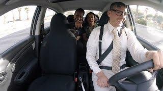 Nerdy Uber Driver Rare Reaction (Filmed Before Original Video)