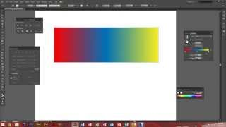 Adobe Illustrator CS6 - How to use the gradient tool