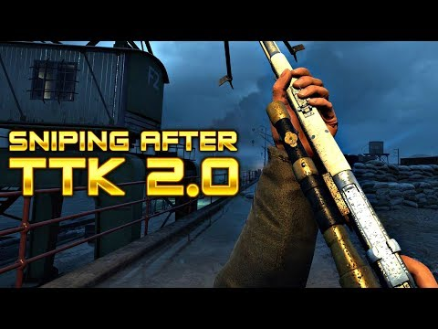 SNIPING AFTER TTK 2.0 PATCH + NEW MAP ZEEBRUGGE Battlefield 1