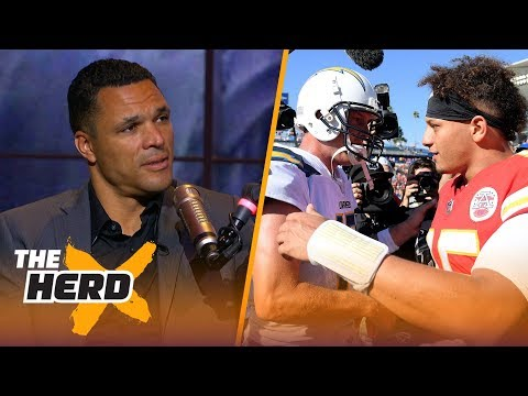 Tony Gonzalez says Chiefs put the NFL on notice, dysfunctional Steelers and more | NFL | THE HERD