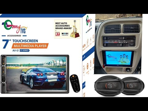 NEW 2020 UNBOXING myTvs 7inch HD Touch Screen with Car Speakers Car Stereo  TAMIL REVIEW/MD EASA DON