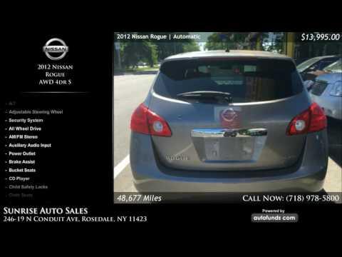 Used 2012 Nissan Rogue | Sunrise Auto Sales, Rosedale, NY