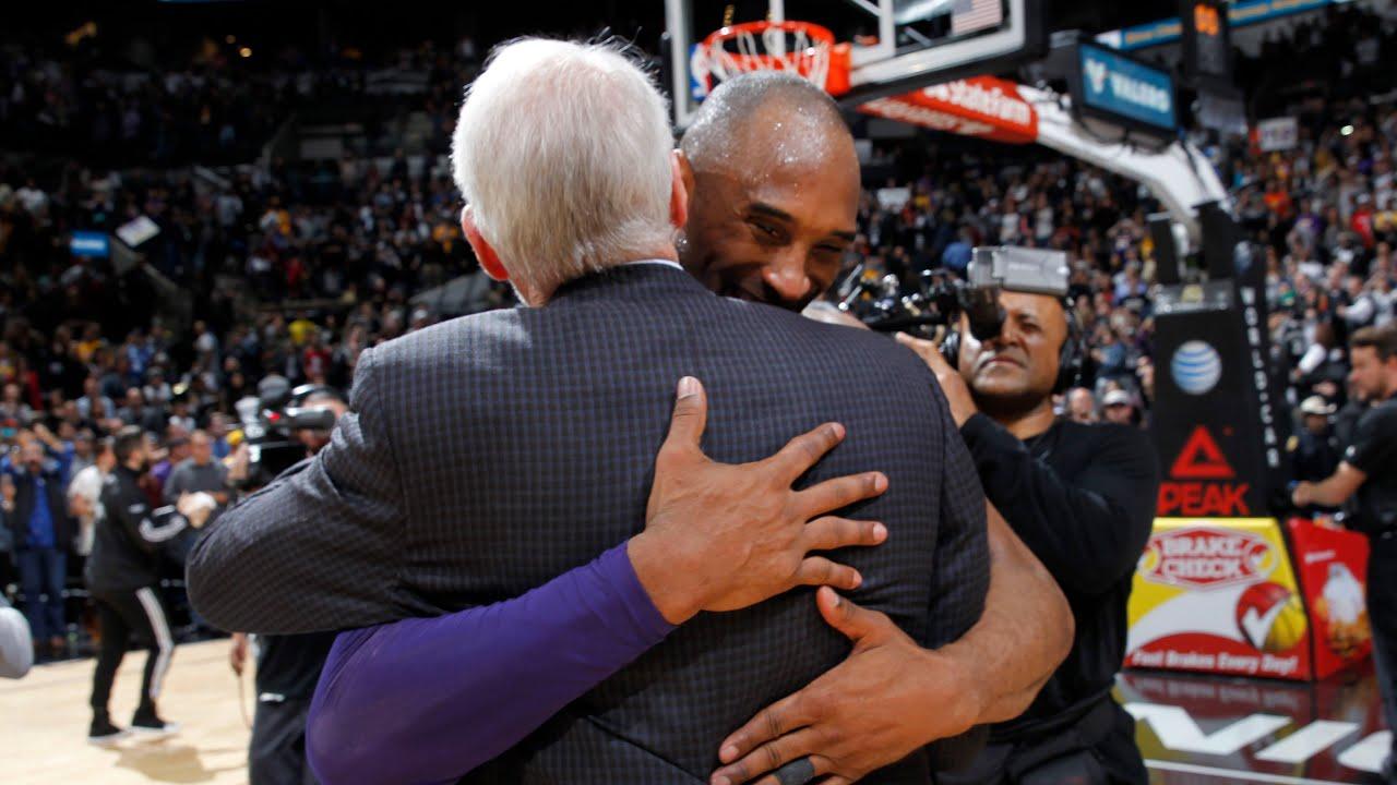 為何波波維奇一直希望執教Kobe?看看那些年Kobe對馬刺隊的「傷害」就知道了!