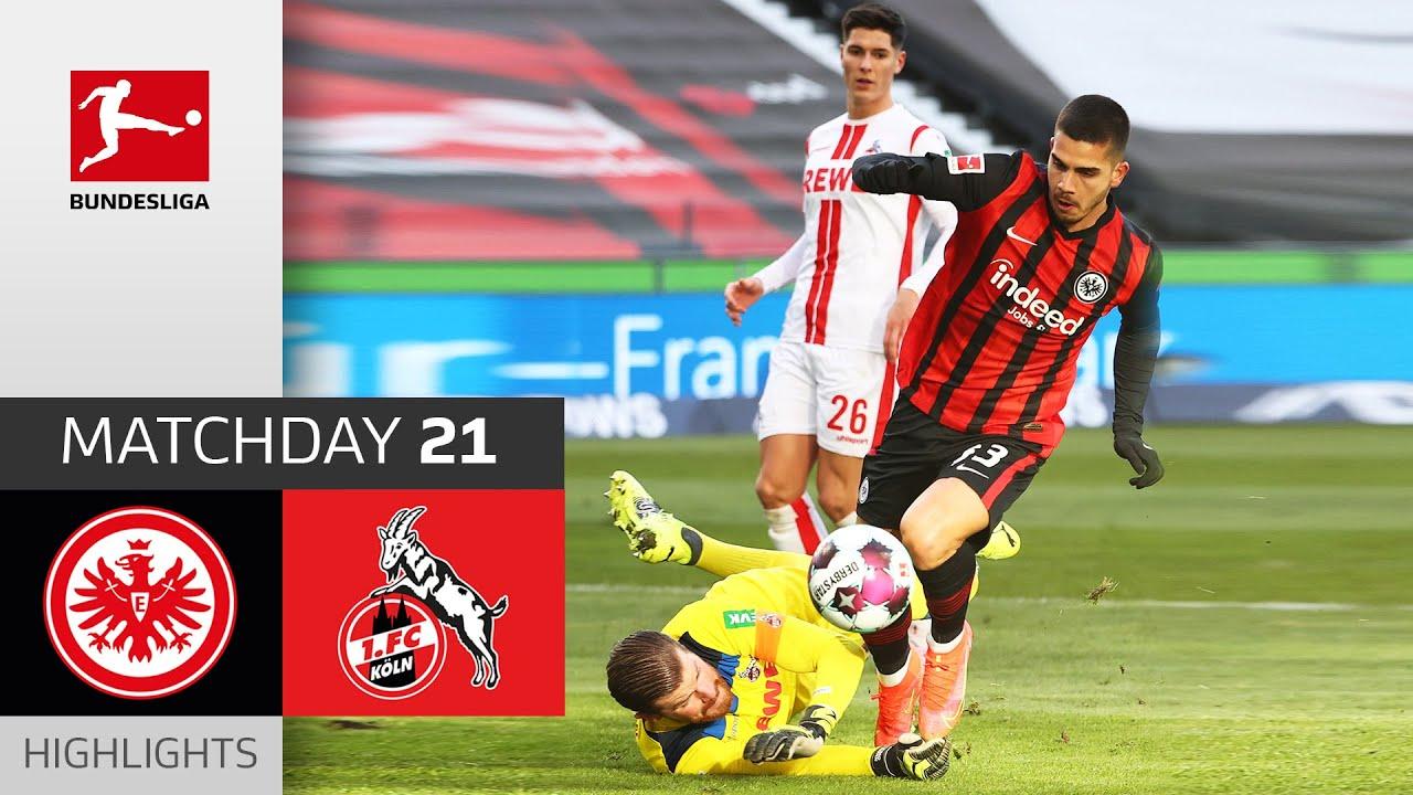 Download Eintracht Frankfurt - 1. FC Köln | 2:0 | Highlights | Matchday 21 – Bundesliga 2020/21