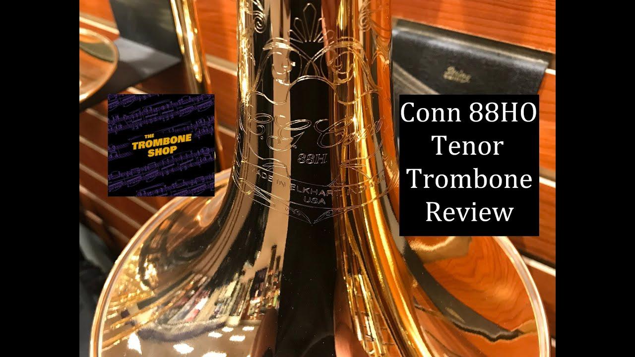 Conn 88HO Large Bore Tenor Trombone Review