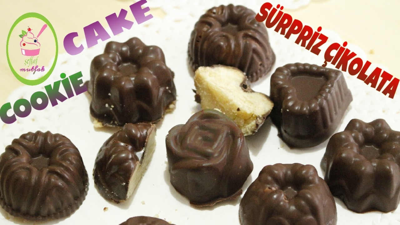 Çikolata Kaplı Kalp Kurabiye Tarifi