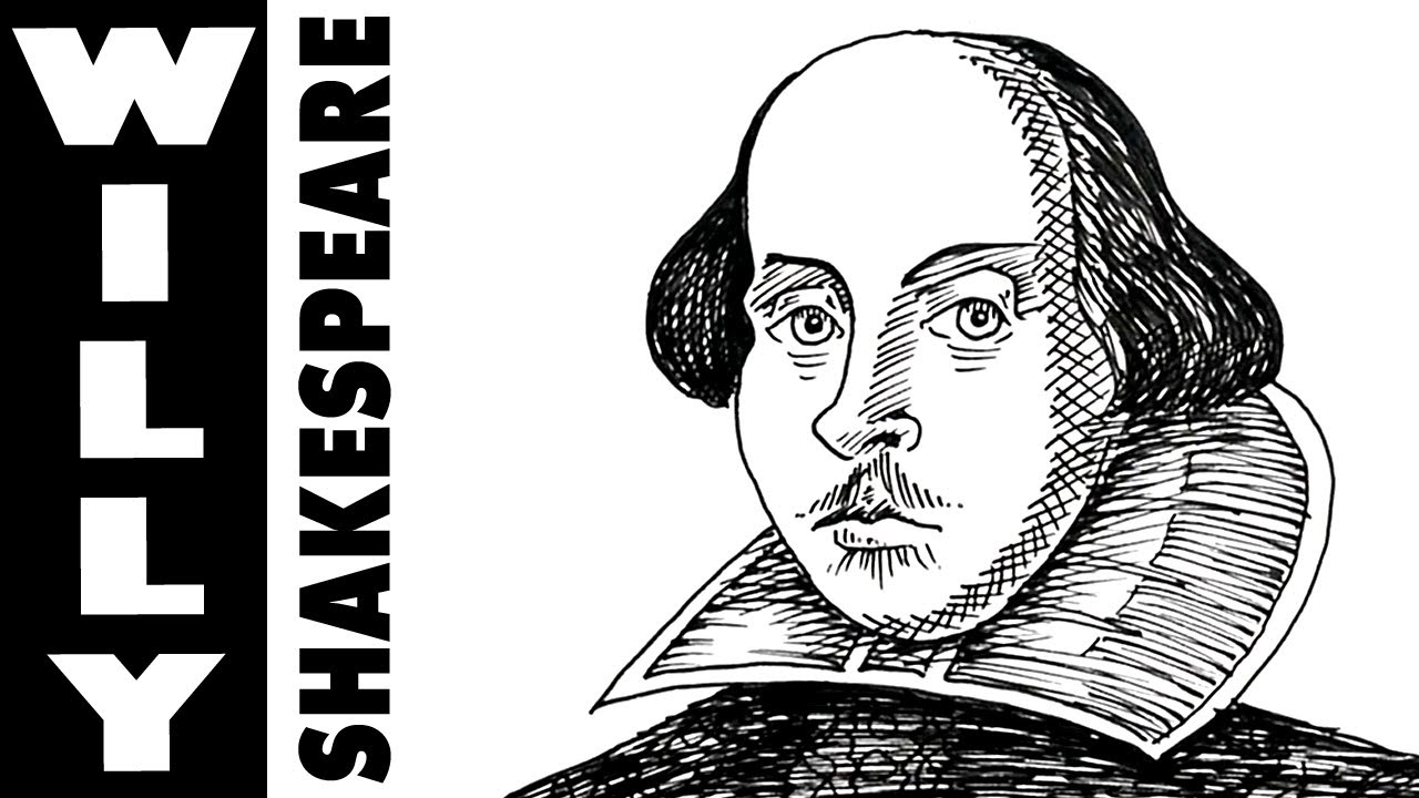 How to draw William Shakespeare - YouTube