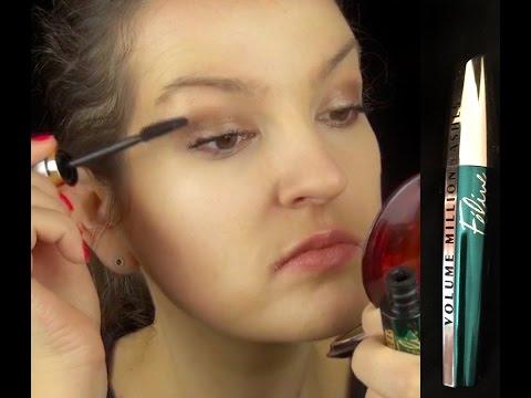 6c23705c3c0 L'Oreal Volume Million Lashes Feline Mascara Review - YouTube