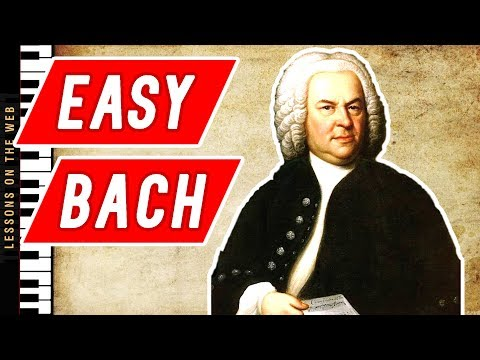 The Easiest Bach Pieces Every Beginner Piano Student Should Start With