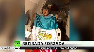 El avión con Evo Morales despega rumbo a México tras una escala en Paraguay