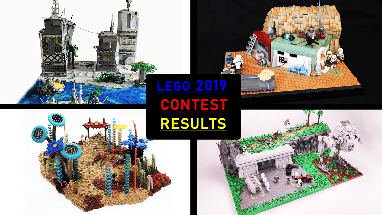 Lego Moc Contest Results 2019 Lego Star Wars Amazing Epic Mocs Lego Moc Competition Results Youtube