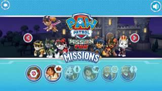 Мультик игра Щенячий Патруль: Миссия в замке (PAW Patrol Mission Paw)