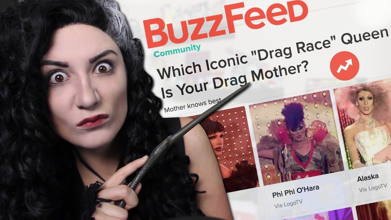 Bellatrix Lestrange takes Buzzfeed quizzes
