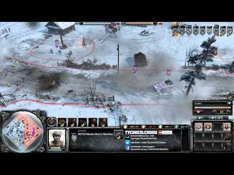 CoH 2 - The Rare Elusive Snowflower - Spanky vs BartonPL